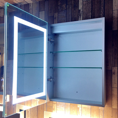 Double-sided Mirror Cabinet